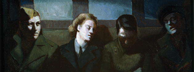 Night Travellers. [CANADIAN WAR MUSEUM—AN19710261-4361]