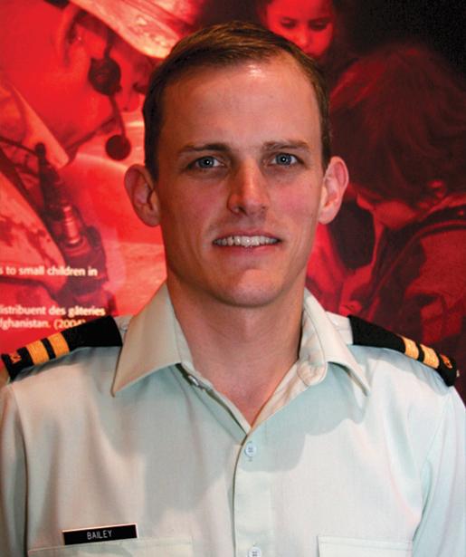 Canadian Forces physician Jason Bailey. [PHOTO: SHARON ADAMS]