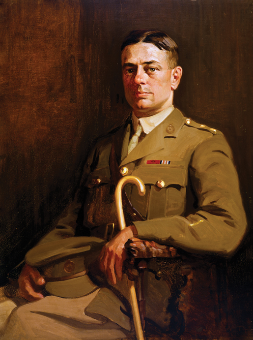 Portrait of Sgt. G.H. Mullin, VC. [CANADIAN WAR MUSEUM—AN19710261-0099]