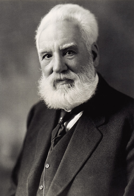 Alexander Graham Bell. [PHOTO: MOFFETT STUDIO, LIBRARY AND ARCHIVES CANADA—C017335]