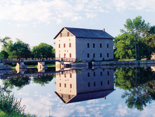 The Lang Grist Mill operates in the Lang Pioneer Village near Peterborough, Ont. [PHOTO: LANG PIONEER VILLAGE]