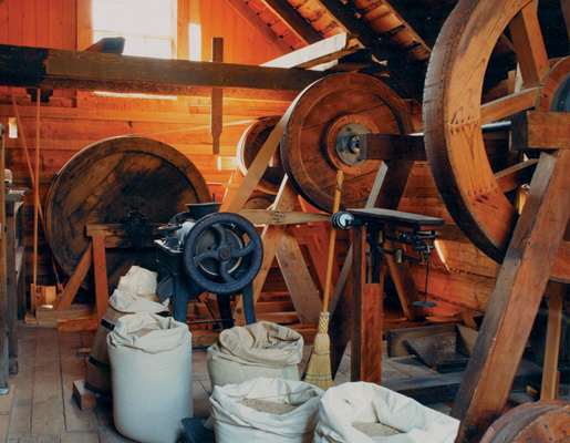 British Columbia has a working grist mill in Keremeos. [PHOTO: HERITAGE BRANCH, PROVINCE OF BRITISH COLUMBIA]