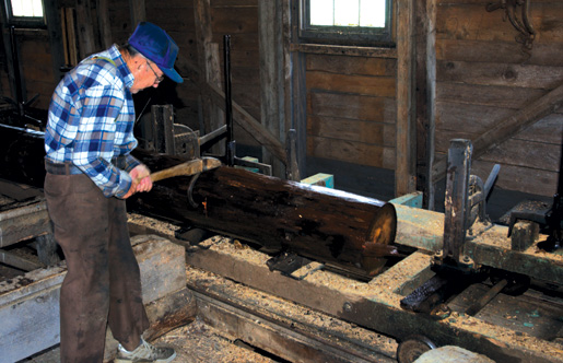 The Bangor Sawmill built in 1850 still operates near  Saulnierville, N.S. [PHOTO: NOVA SCOTIA TOURISM, CULTURE AND HERITAGE]