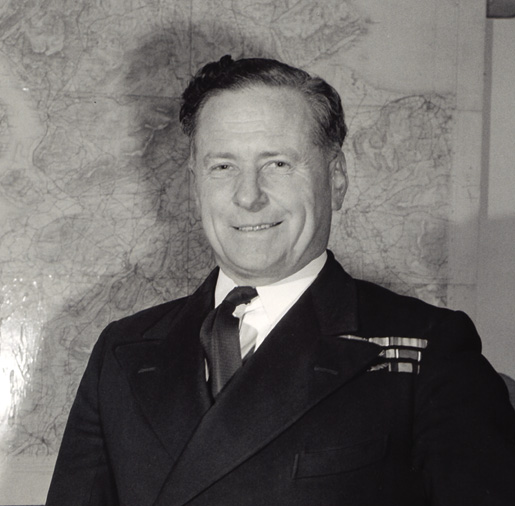 Commodore George Simpson, RN. [PHOTO: FRANKLIN ROY KEMP, NATIONAL DEFENCE, LIBRARY AND ARCHIVES CANADA—PA161259]