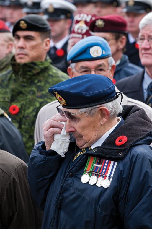 Many veterans were moved to tears by the event. [PHOTO: METROPOLIS STUDIO]