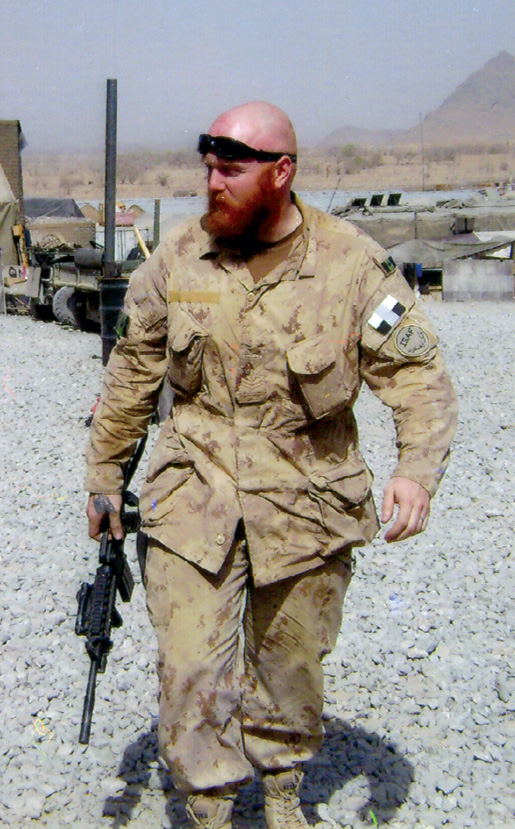 Doyle in Afghanistan in 2008. [PHOTO: COURTESY NICOLE DOYLE]
