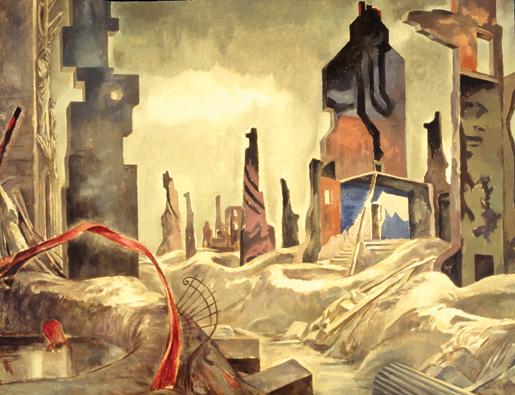 Dead City–Caen. [ILLUSTRATION: CANADIAN WAR MUSEUM–AN19710261-4498]
