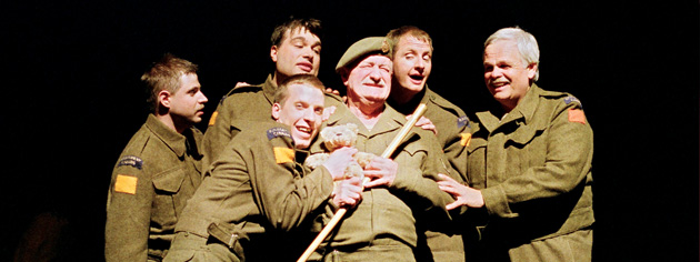 Actors perform in a 2005 Kanata Theatre production. [PHOTO: WENDY WAGNER]