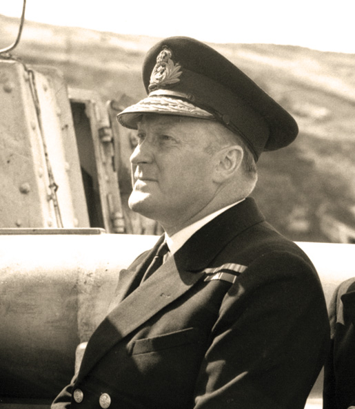 Rear-Admiral L.W. Murray. [PHOTOS: LIBRARY AND ARCHIVES CANADA—PA141630]