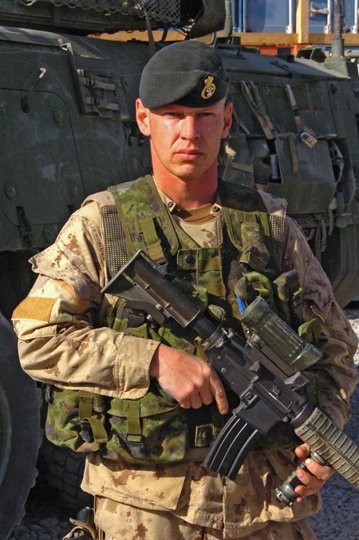 Sgt. Vaughan Ingram. [PHOTOS: COMBATCAMERA/DND]