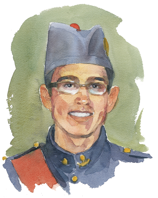 Shawn Claire, Victoria, B.C.  [ILLUSTRATION: TERRY SHOFFNER]
