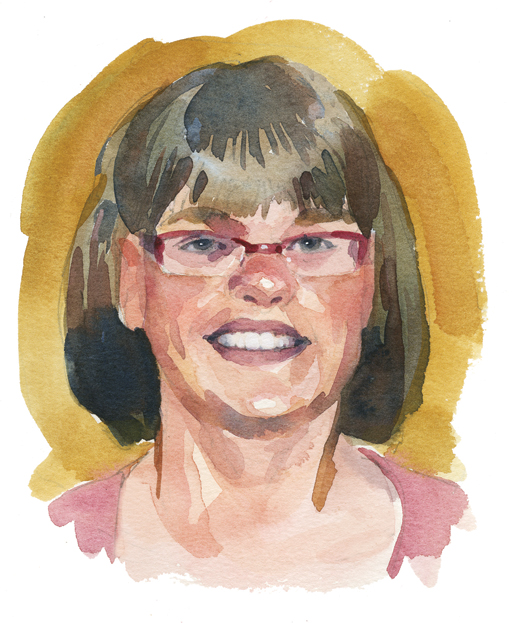 Kate Rundle, Summerside, P.E.I. [ILLUSTRATION: TERRY SHOFFNER]