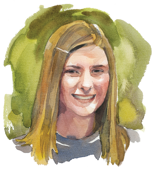 Amanda Parent, Ottawa  [ILLUSTRATION: TERRY SHOFFNER]