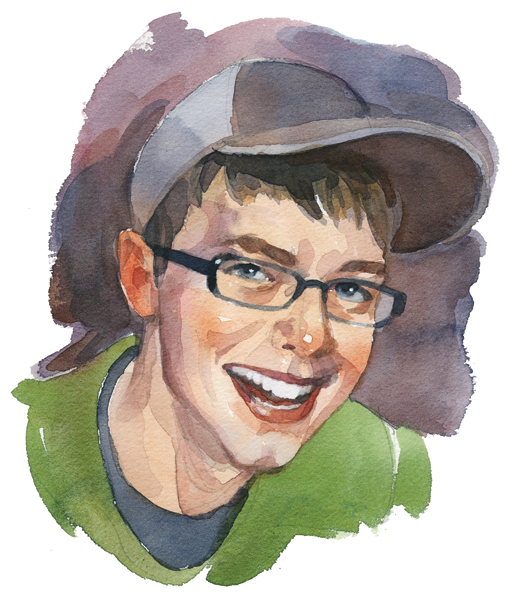 Matthew Howse, Kingston, N.S.  [ILLUSTRATION: TERRY SHOFFNER]