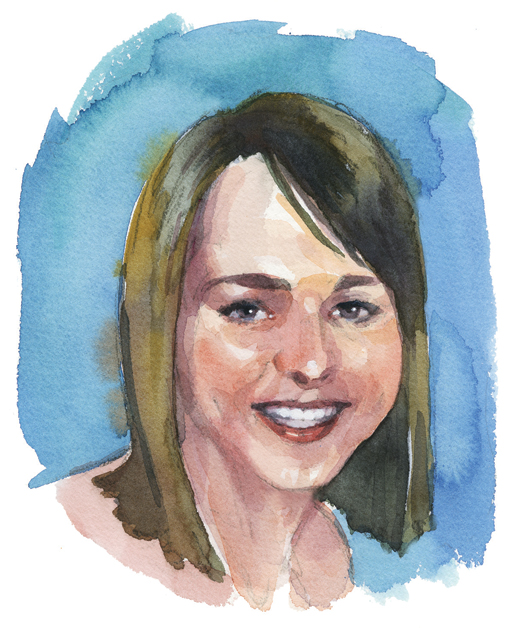 Shelby-Lee Cole, Summerside, P.E.I.  [ILLUSTRATION: TERRY SHOFFNER]