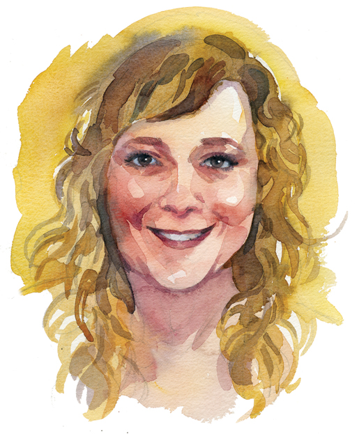 Trisha Banks, Summerside, P.E.I.  [ILLUSTRATION: TERRY SHOFFNER]