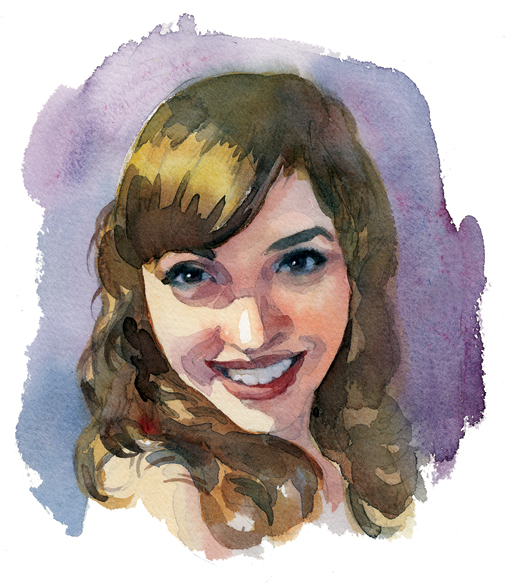 Victoria Lisi, Whitby, Ont.  [ILLUSTRATION: TERRY SHOFFNER]