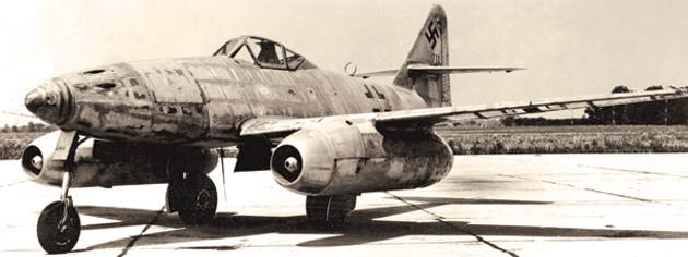 The Luftwaffe's Me.262 fighter. [PHOTO: U.S. AIR FORCE]