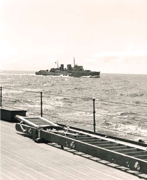 HMCS Prince Henry, June 1942. [PHOTO: NEIL TOMLINSON, LIBRARY AND ARCHIVES CANADA—PA146235]