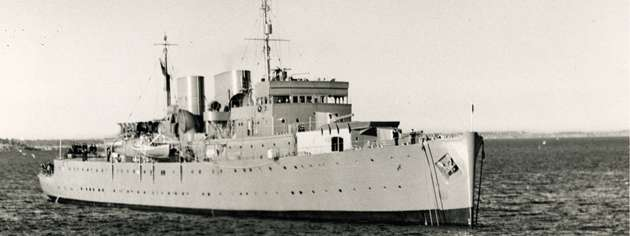 HMCS Prince Robert, April 1941. [PHOTO: DND/LIBRARY AND ARCHIVES CANADA—PA151740]