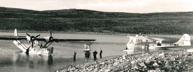 Cansos were also used  in support of other Arctic surveys. [PHOTO: CANADIAN FORCES]