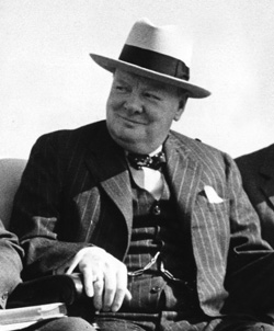 Sir Winston Churchill [PHOTO: NATIONAL FILM BOARD]