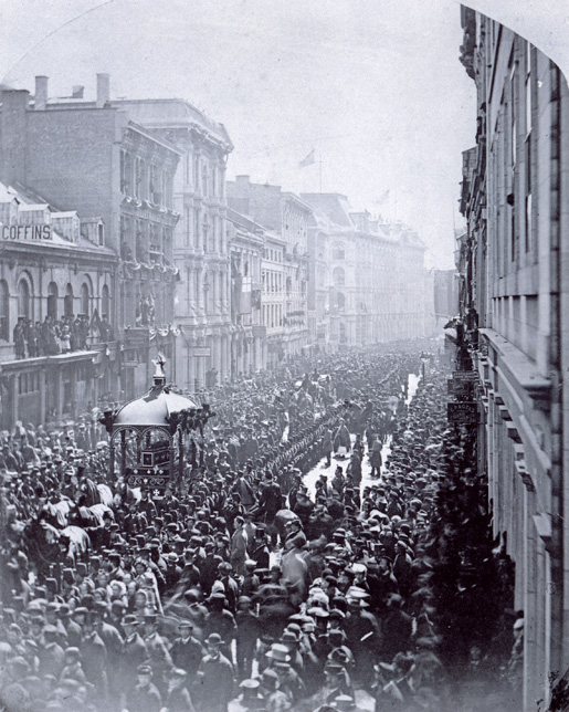 Funeral Procession. [PHOTO: LIBRARY AND ARCHIVES CANADA C-083423]