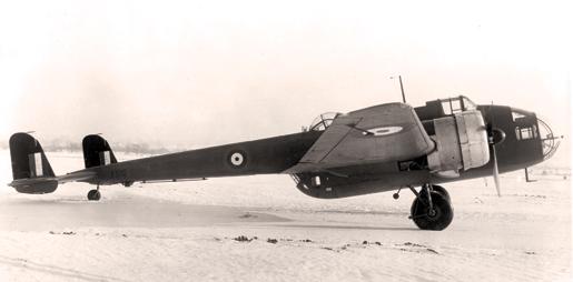 An undated shot of a Hampden II prototype torpedo bomber. [PHOTO: IMPERIAL WAR MUSEUM]