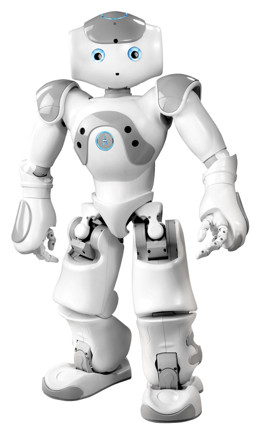 Aldebaran Robotics NAO. [PHOTO: ALDEBARAN ROBOTICS]
