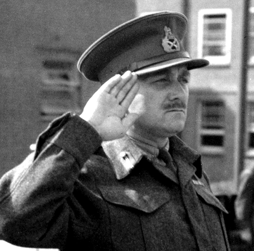 LIEUTENANT-GENERAL CHARLES FOULKES [PHOTO: LEGION MAGAZINE ARCHIVES]