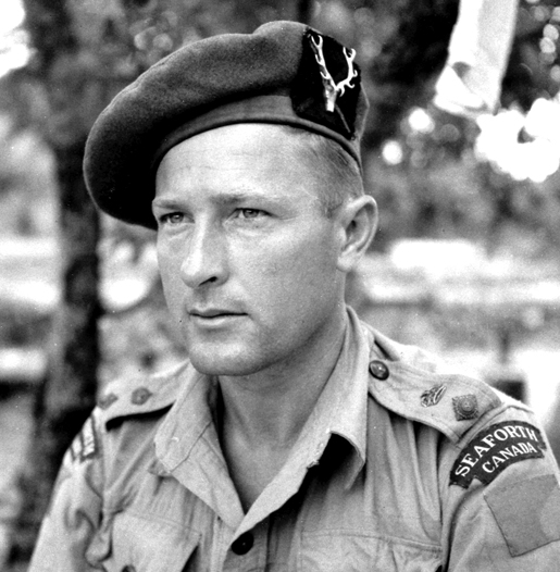 MAJOR-GENERAL BERT M. HOFFMEISTER [PHOTO: LEGION MAGAZINE ARCHIVES]
