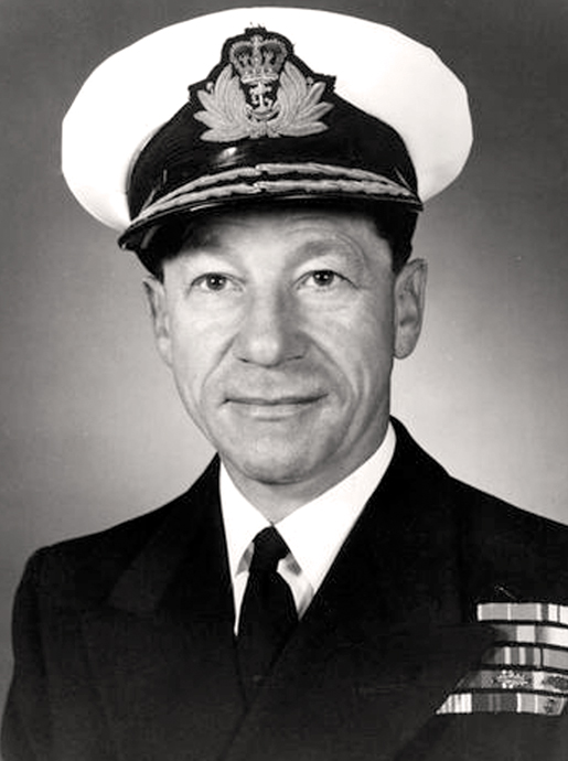 REAR-ADMIRAL WILLIAM LANDYMORE [PHOTO: DND]