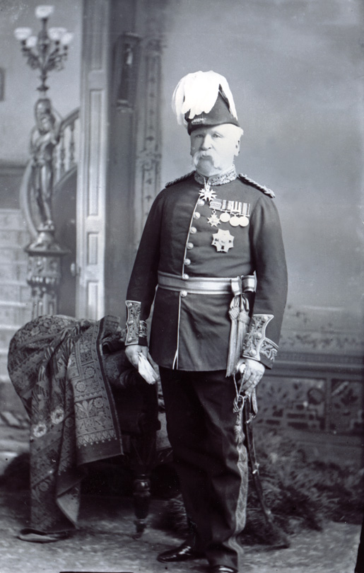 Major general frederick d middleton photo library and archives