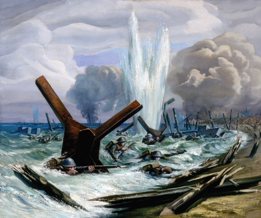 Orville Fisher's D-Day Assault. [.]