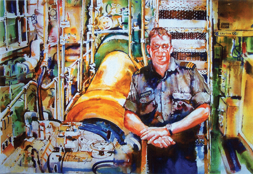 Chief Electrical Engineer [ILLUSTRATION: DOUG BRADFORD]