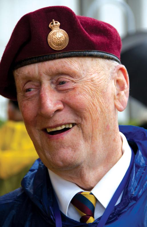 Veteran Don Landry of Middle Cornwall, N.S. [PHOTO: DAN BLACK]