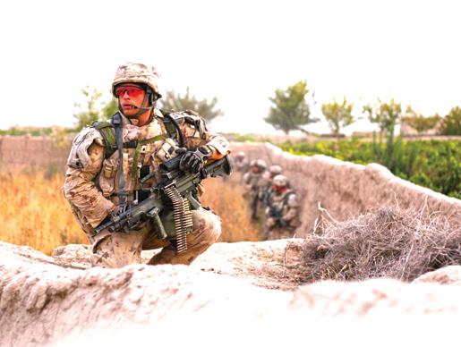 Infantry in Salavat. [PHOTO: ADAM DAY]