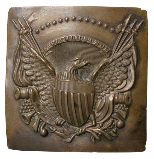 U.S. Army shako plate