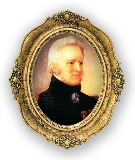 [LIEUTENANT-COLONEL CHARLES-MICHEL DE SALABERRY BY DON. G. MCNAB, COURTESY OF CHÂTEAU RAMEZAY MUSEUM, MONTREAL]