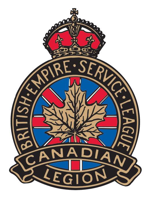 The Royal Canadian Legion logo, 1935.