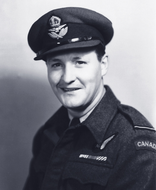 Flying Officer John Granda was decorated by Greece. [PHOTO: LIBRARY AND ARCHIVES CANADA­—E010988377]