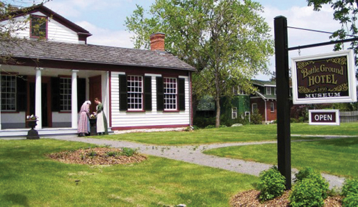 Battle Ground Hotel Museum, Lundy's Lane. [PHOTO: CITY OF NIAGARA FALLS MUSEUMS]
