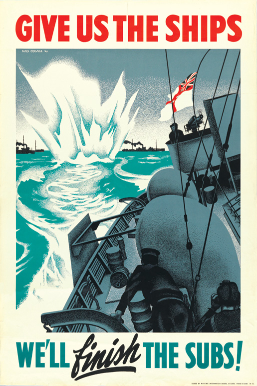 Wartime recruiting poster.
