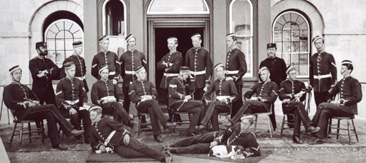 The First Class at Royal Military College in Kingston.