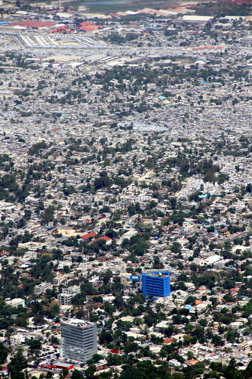 A panoramic view of a section of Port-au-Prince. [PHOTO: DAN BLACK]