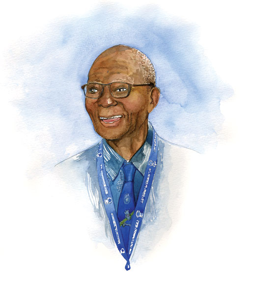 Haynes Cyril. [ILLUSTRATION: JENNIFER MORSE]