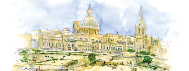 Malta. [ILLUSTRATION: JENNIFER MORSE]