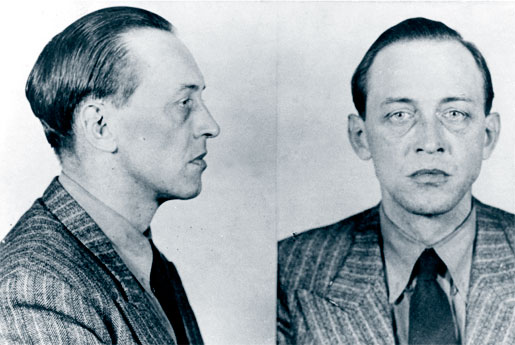 Police photos of the German spy Walter Alfred Waldemar von Janowski. [PHOTO: RCMP HISTORICAL COLLECTIONS UNIT, REGINA, SASK.]