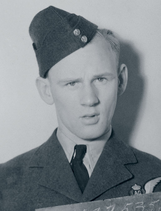 Sergeant Thomas Aldridge. [PHOTO: HUGH A. HALLIDAY]