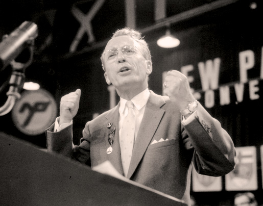 Tommy Douglas [PHOTO: LIBRARY AND ARCHIVES CANADA—C036222]